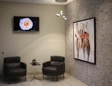 Star Clinic office waiting room